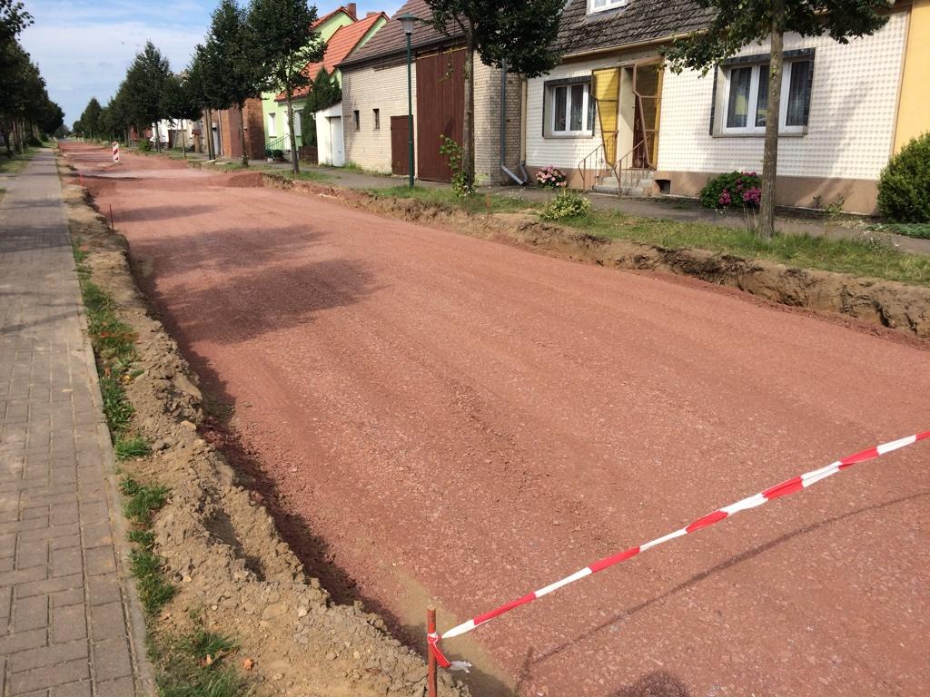 Straßenbaumaßnahme Ortsdurchfahrt Rosian