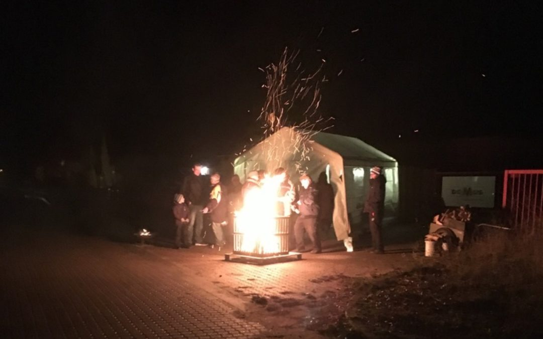 Lindenallee stimmt sich auf die Vorweihnachtszeit ein