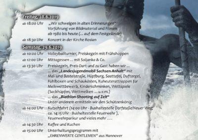 Plakat Ehlefest 2019